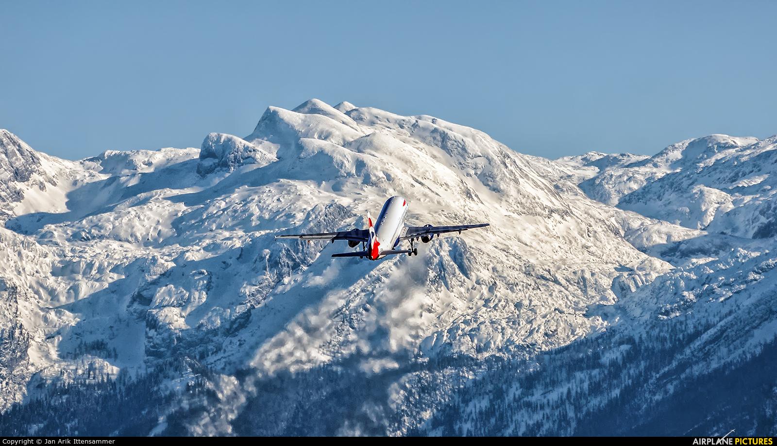 British Airways G-GATM aircraft at Salzburg