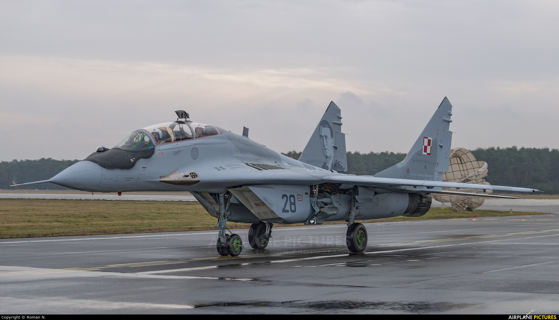 Poland - Air Force 28 aircraft at Bydgoszcz - Szwederowo