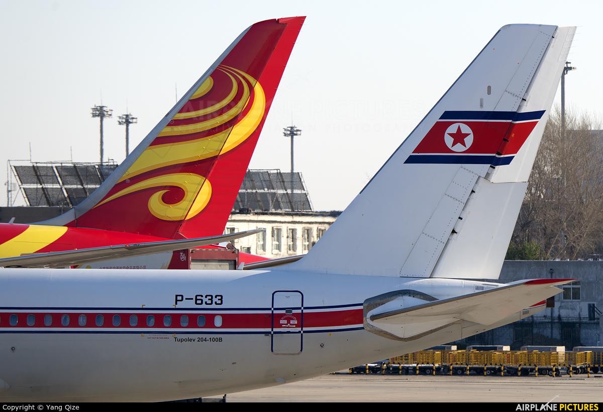 Air Koryo P-633 aircraft at Beijing - Capital