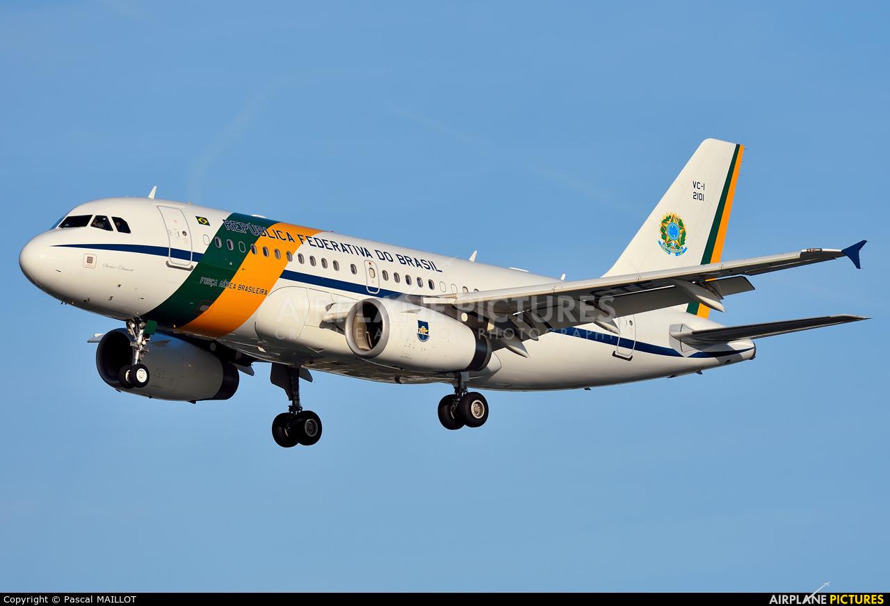 Brazil - Air Force 2101 aircraft at Paris - Le Bourget