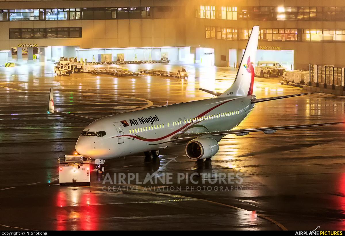Air Niugini P2-PXC aircraft at Tokyo - Narita Intl