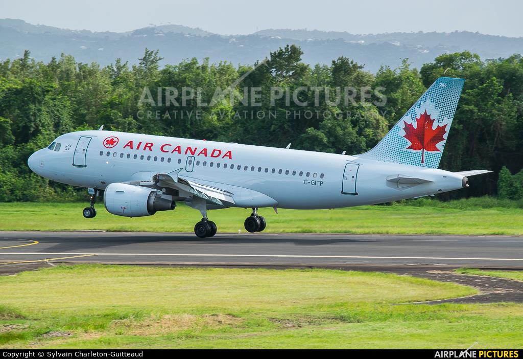 Air Canada C-GITP aircraft at Martinique - Aimé Césaire
