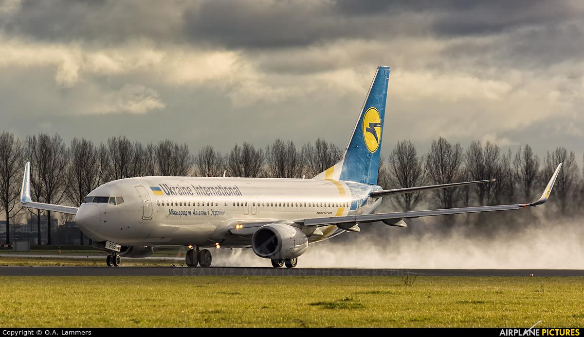Ukraine International Airlines UR-PSB aircraft at Amsterdam - Schiphol