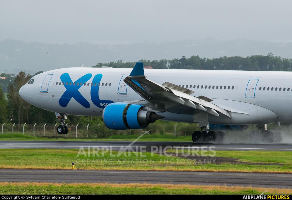 XL Airways France F-HXLF aircraft at Martinique - Aimé Césaire