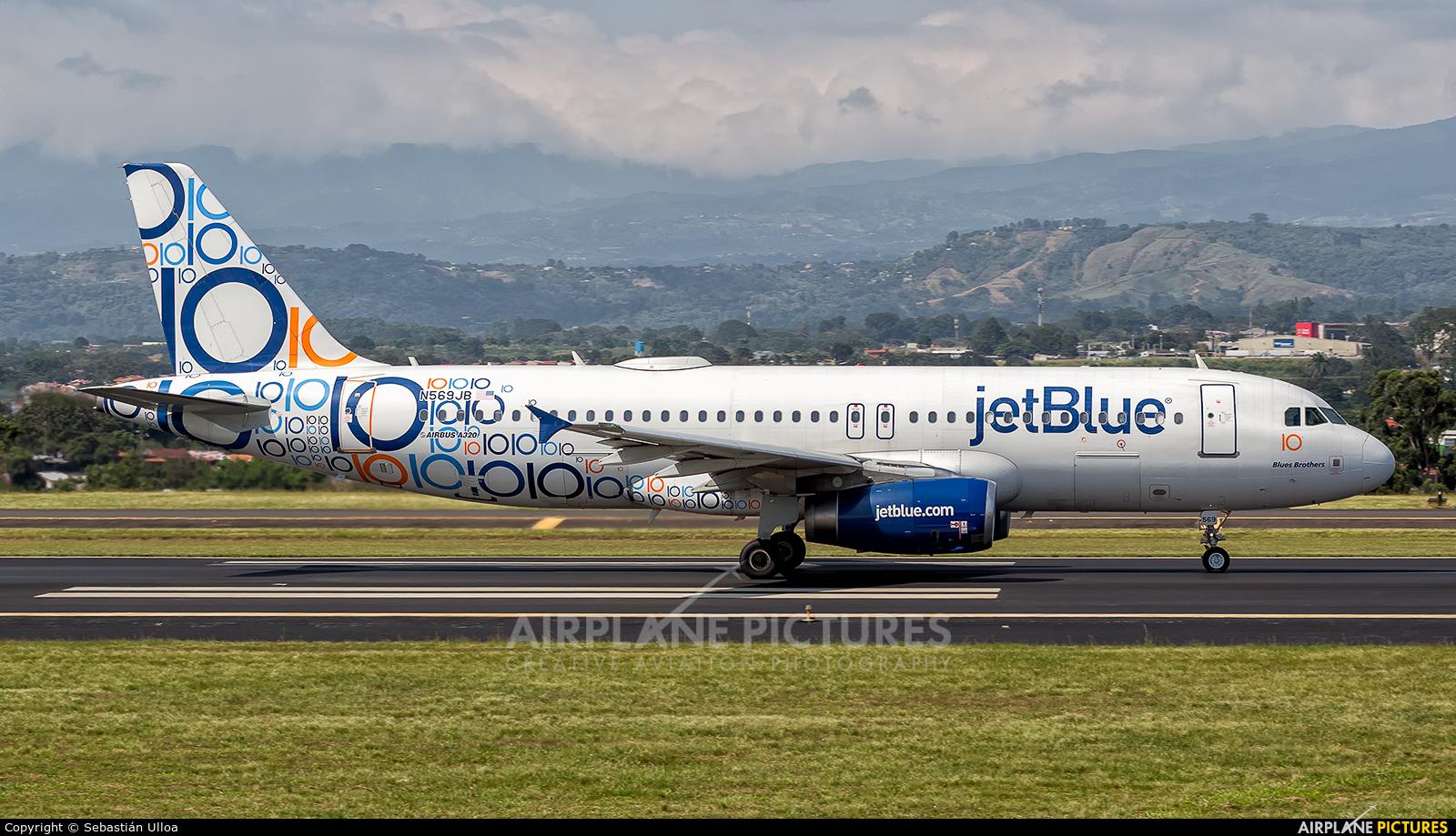 JetBlue Airways N569JB aircraft at San Jose - Juan Santamaría Intl