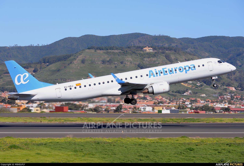 Air Europa EC-KRJ aircraft at Tenerife Norte - Los Rodeos