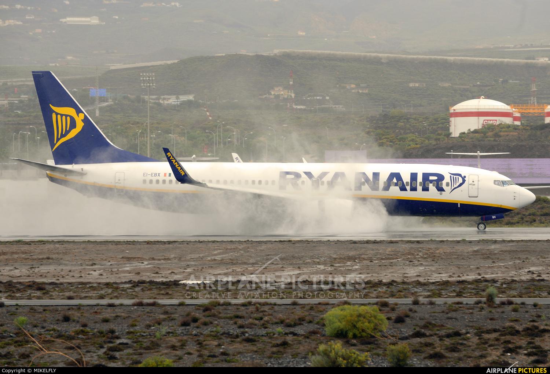 Ryanair EI-EBX aircraft at Tenerife Sur - Reina Sofia