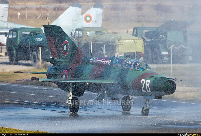 Bulgaria - Air Force 28 aircraft at Graf Ignatievo