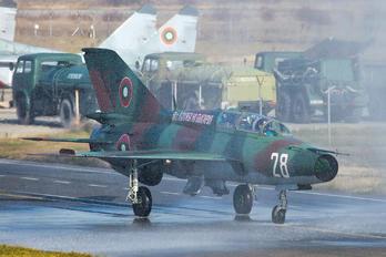28 - Bulgaria - Air Force Mikoyan-Gurevich MiG-21UM