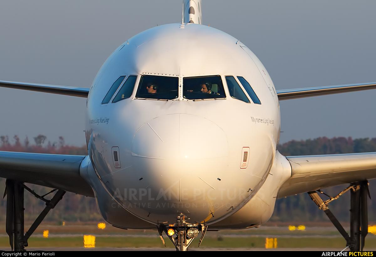 Vueling Airlines EC-KCU aircraft at Milan - Malpensa