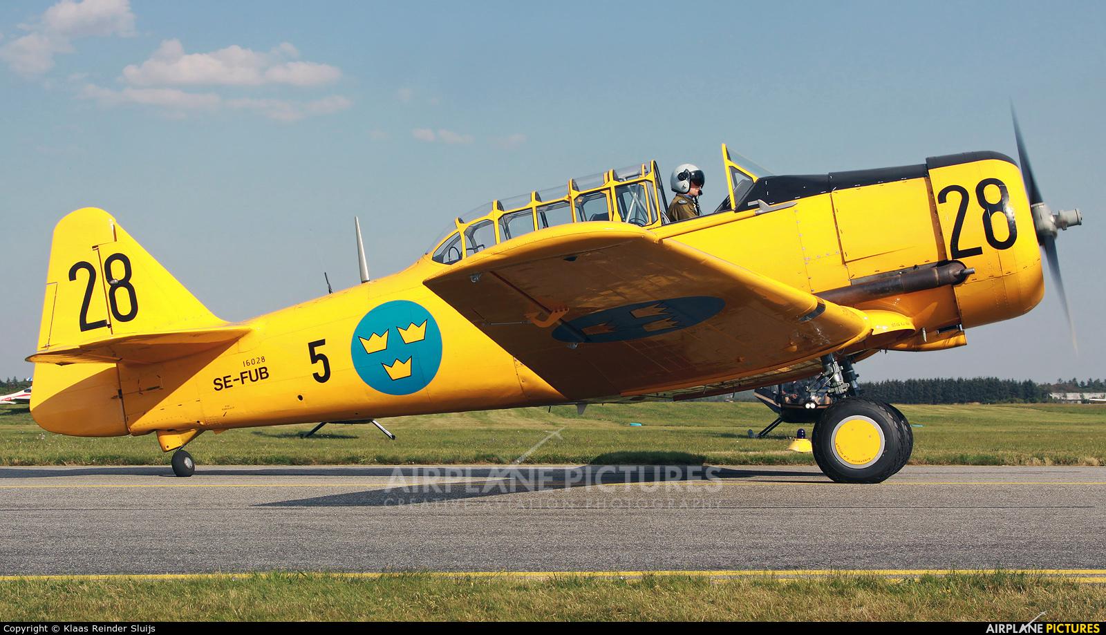 Swedish Air Force Historic Flight SE-FUB aircraft at Stauning