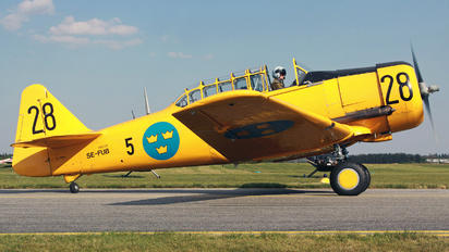 SE-FUB - Swedish Air Force Historic Flight Noorduyn AT-16 Harvard IIB