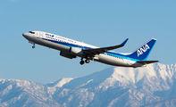 JA67AN - ANA - All Nippon Airways Boeing 737-800 aircraft