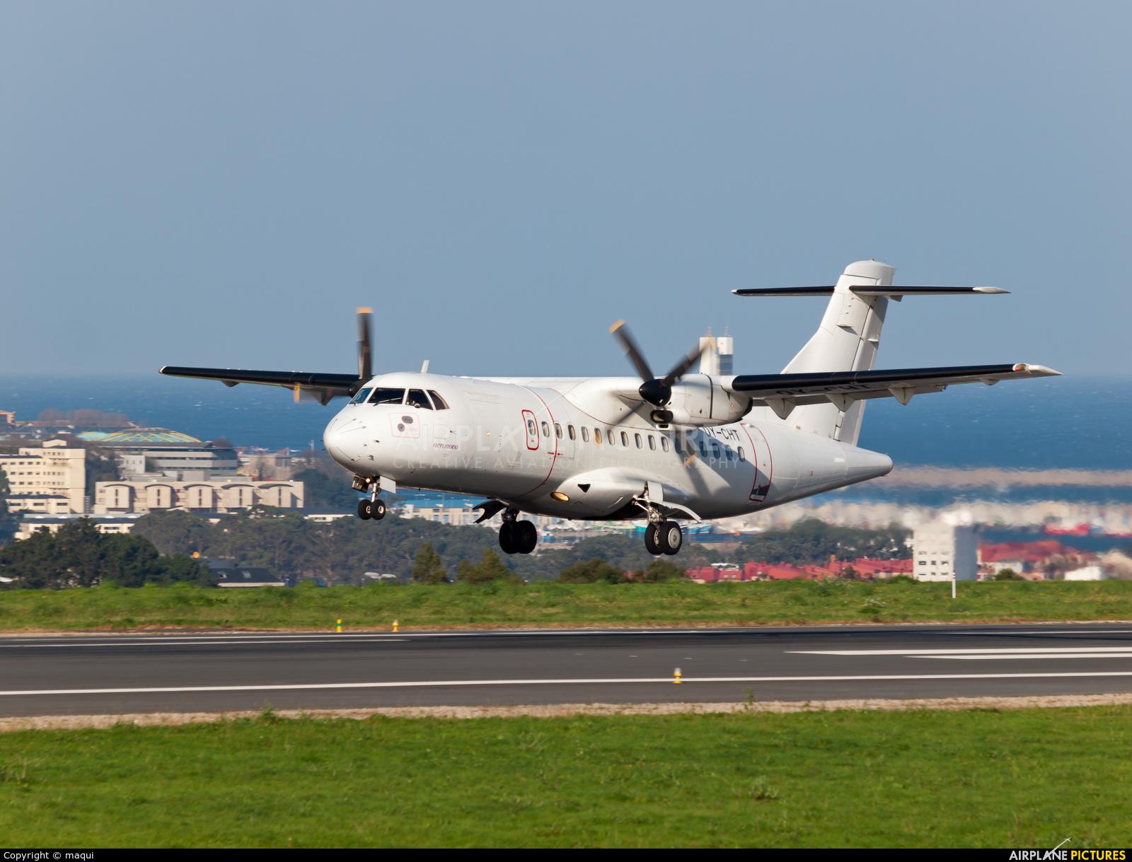 Aeronova OY-CHT aircraft at La Coruña