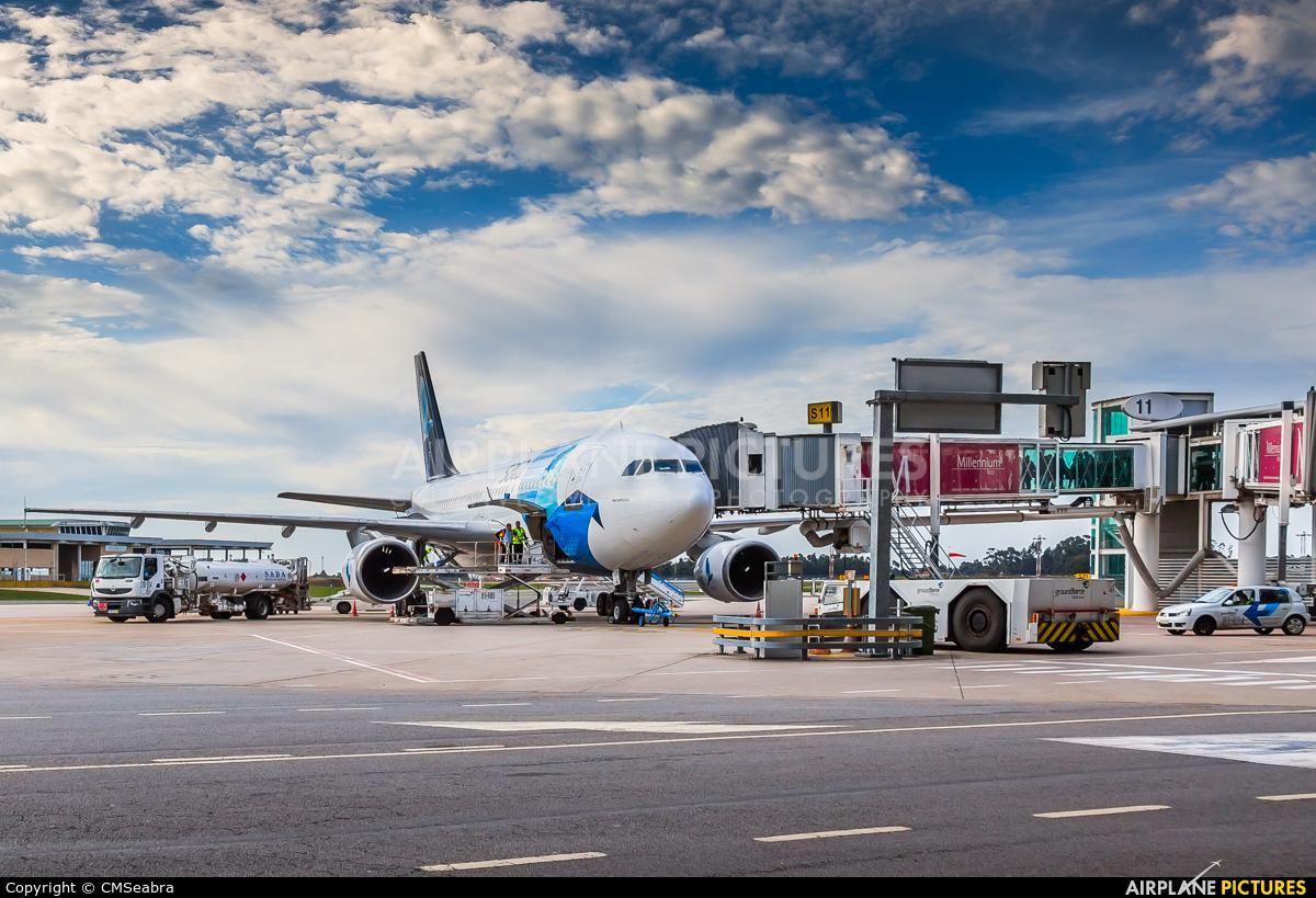 SATA International CS-TKN aircraft at Porto