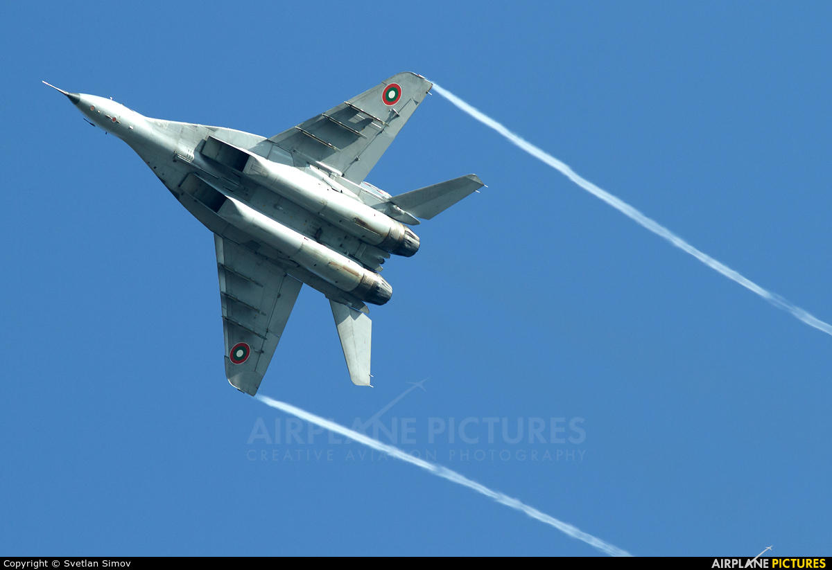 Bulgaria - Air Force 33 aircraft at Graf Ignatievo