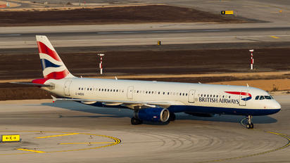 G-MEDG - British Airways Airbus A321