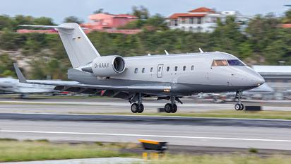 D-AAAY - Private Bombardier CL-600-2B16 Challenger 604