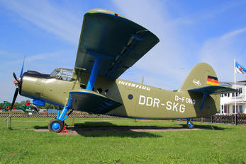 D-FONG - Interflug Antonov An-2