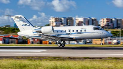 N575AG - Private Bombardier CL-600-2B16 Challenger 604
