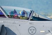 840 - Sweden - Air Force SAAB JAS 39D Gripen aircraft
