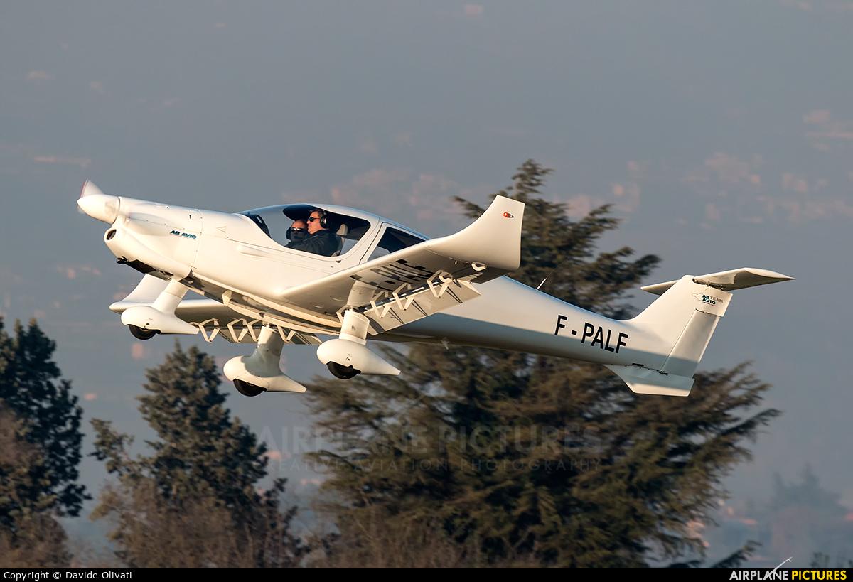 Private F-PALF aircraft at Verona - Boscomantico