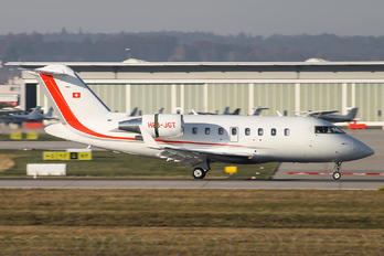 HB-JGT - Private Canadair CL-600 Challenger 605