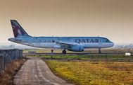 A7-AHB - Qatar Airways Airbus A320 aircraft