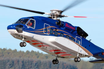 G-VINL - Bond Offshore Helicopters Sikorsky S-92