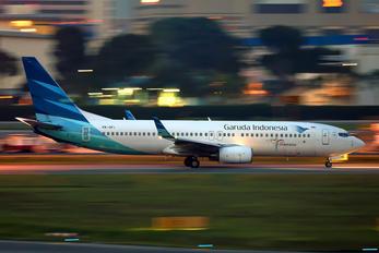 PK-GFI - Garuda Indonesia Boeing 737-800