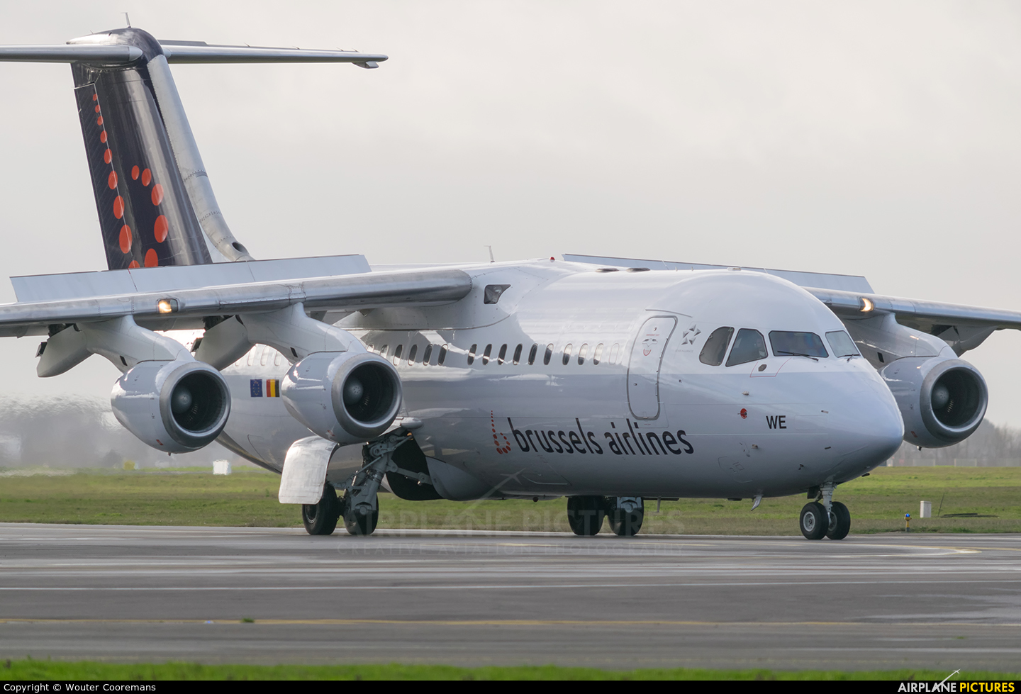 Brussels Airlines OO-DWE aircraft at Brussels - Zaventem