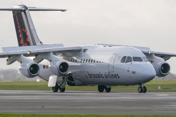 OO-DWE - Brussels Airlines British Aerospace BAe 146-300/Avro RJ100