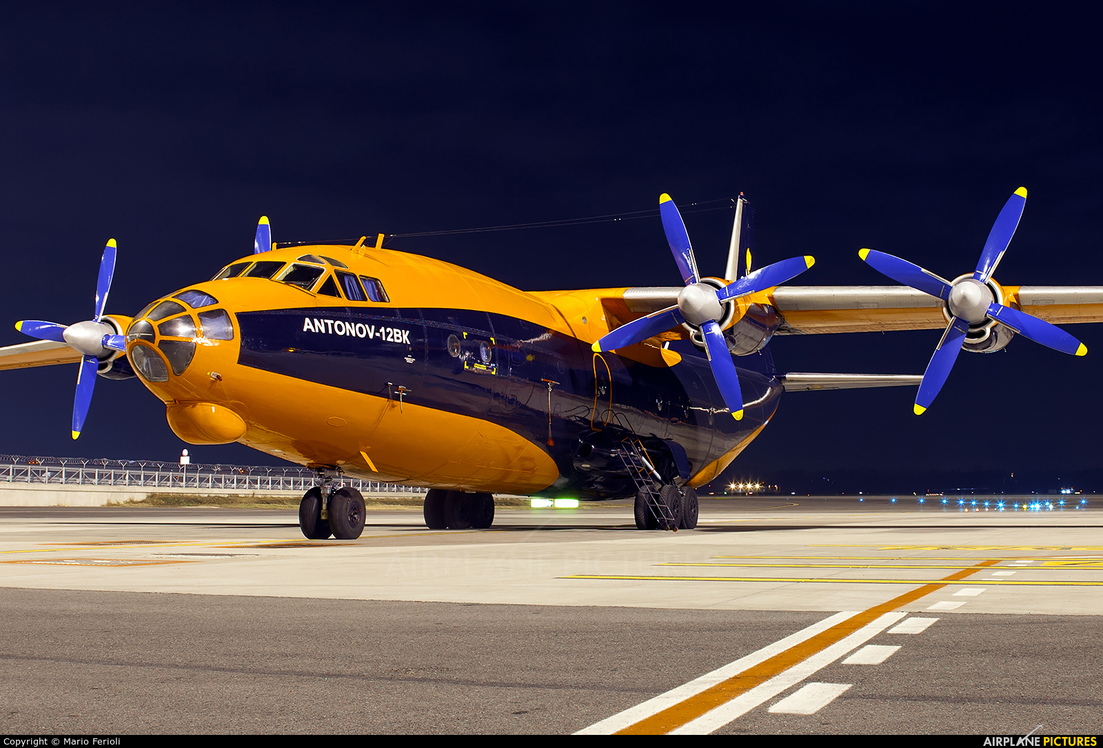 Cavok Air UR-CKL aircraft at Milan - Malpensa