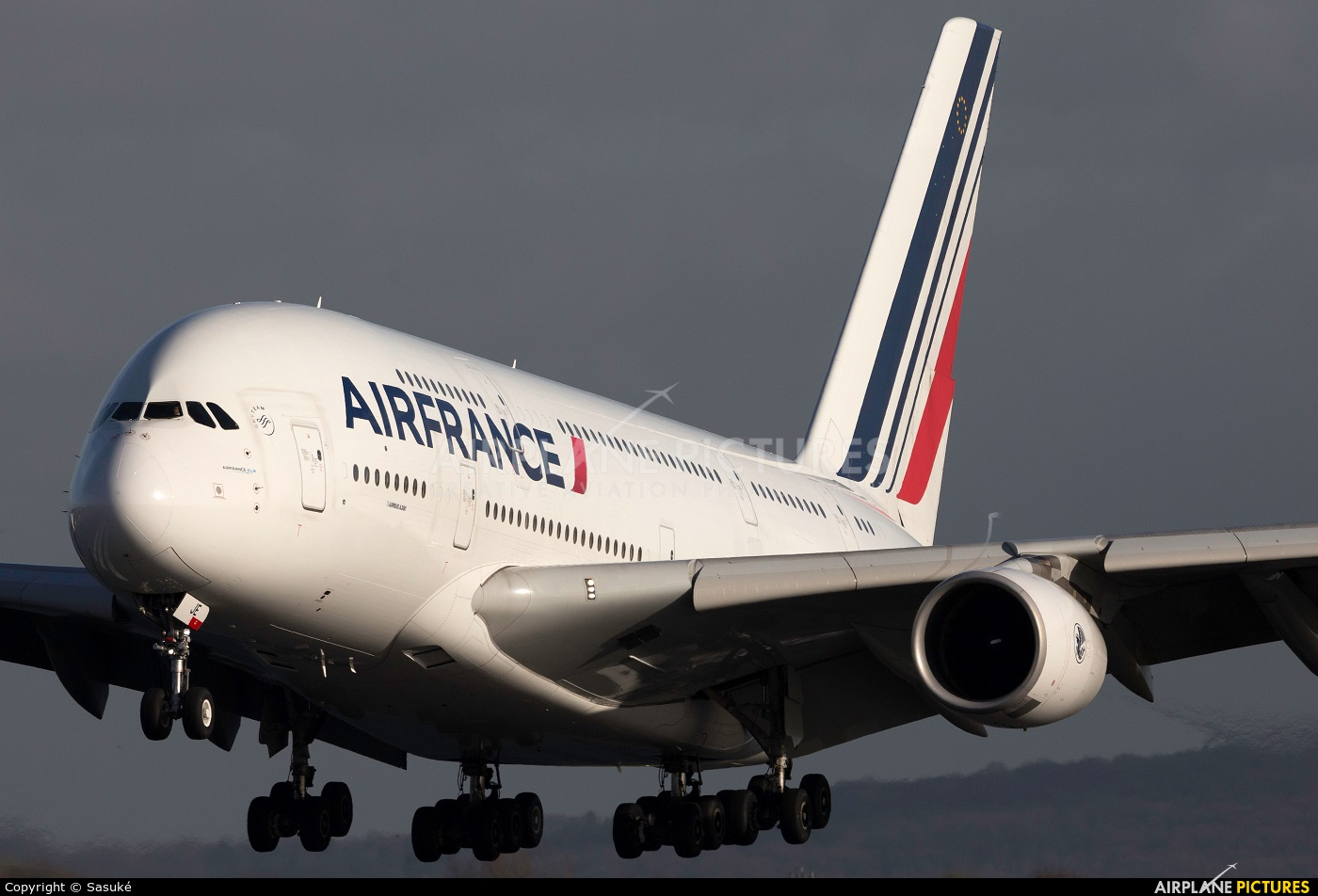 Air France F-HPJE aircraft at Paris - Charles de Gaulle