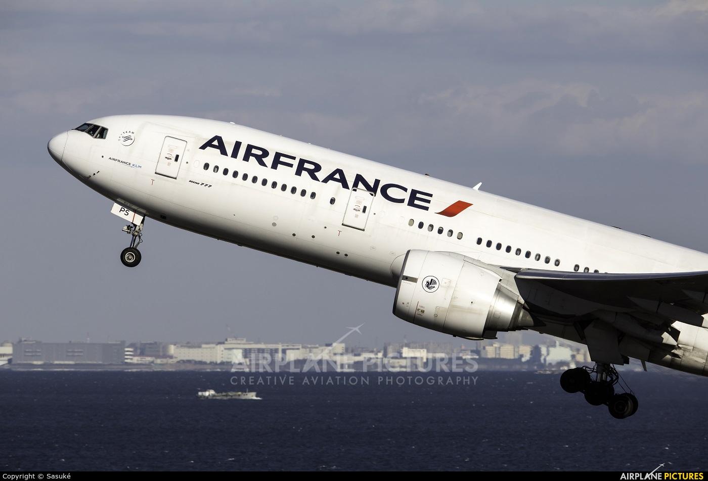 Air France F-GSPS aircraft at Tokyo - Haneda Intl