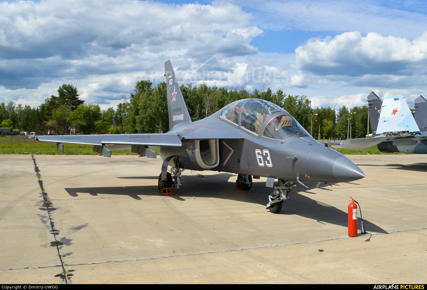 Russia - Air Force 63 aircraft at Kubinka