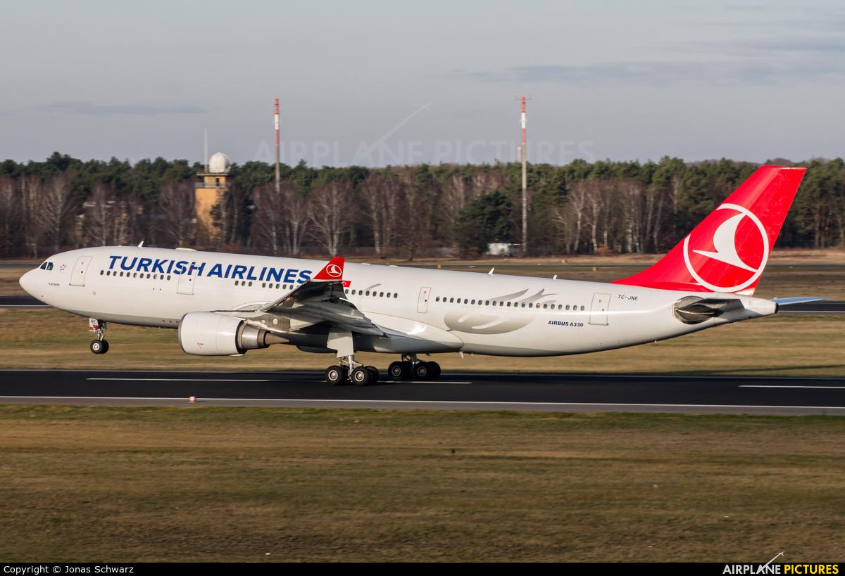 Turkish Airlines TC-JNE aircraft at Berlin - Tegel