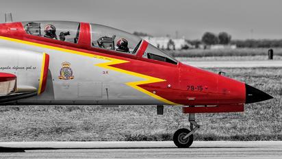 E.25-15 - Spain - Air Force : Patrulla Aguila Casa C-101EB Aviojet