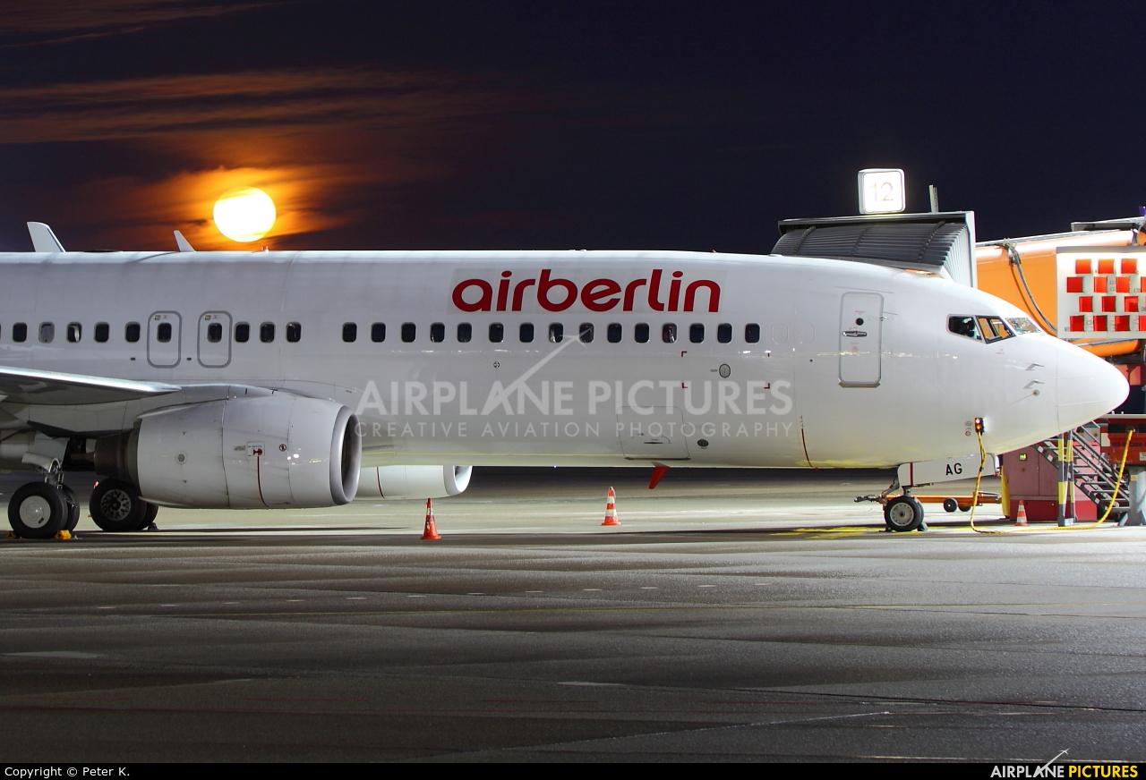 Air Berlin D-ABAG aircraft at Berlin - Tegel