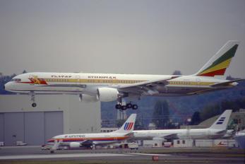 ET-AKF - Ethiopian Airlines Boeing 757-200