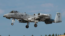 81-0656 - USA - Air Force Fairchild A-10 Thunderbolt II (all models) aircraft