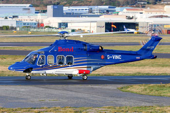 G-VINC - Bond Offshore Helicopters Agusta Westland AW139