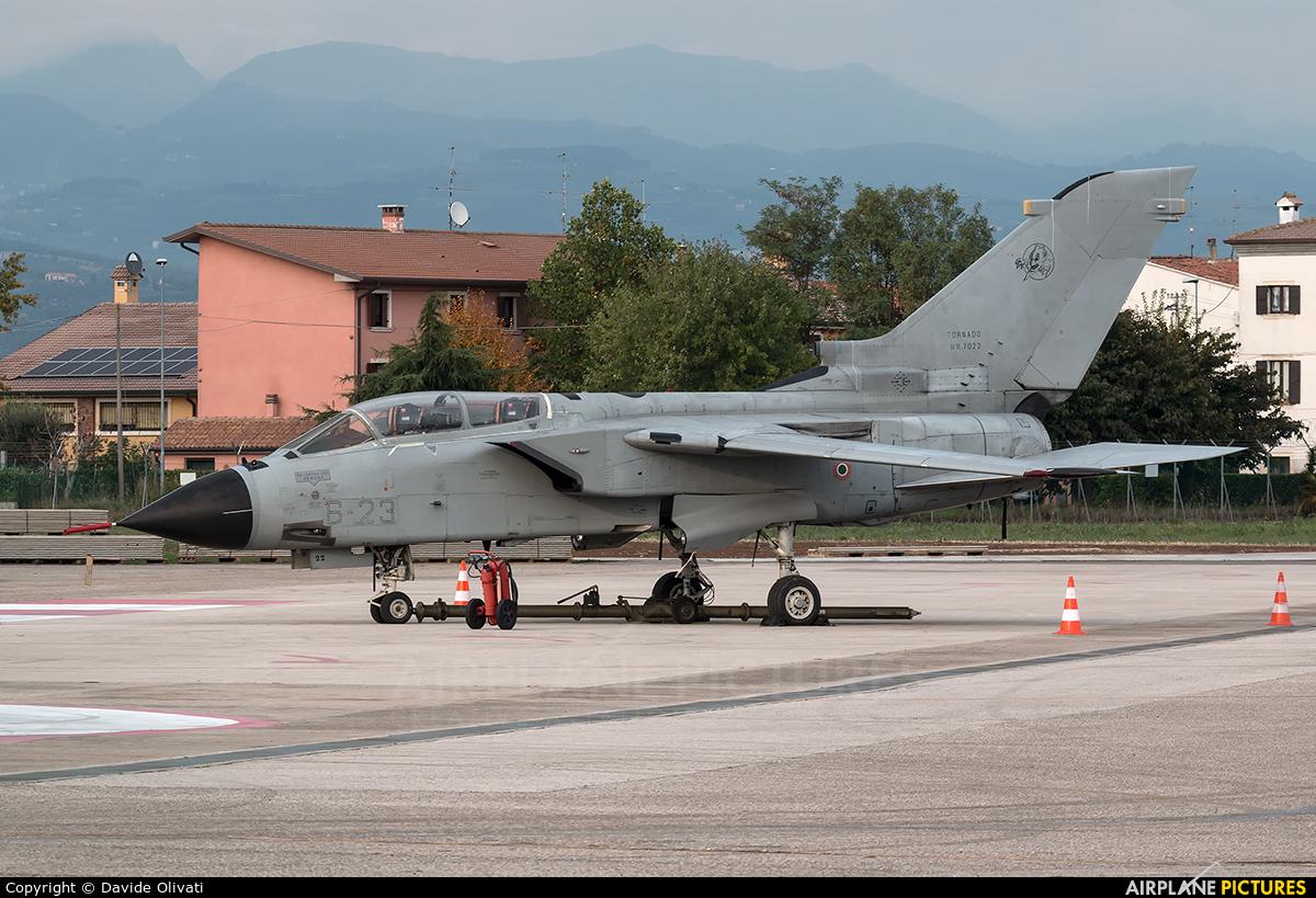 Italy - Air Force MM7022 aircraft at Verona - Villafranca