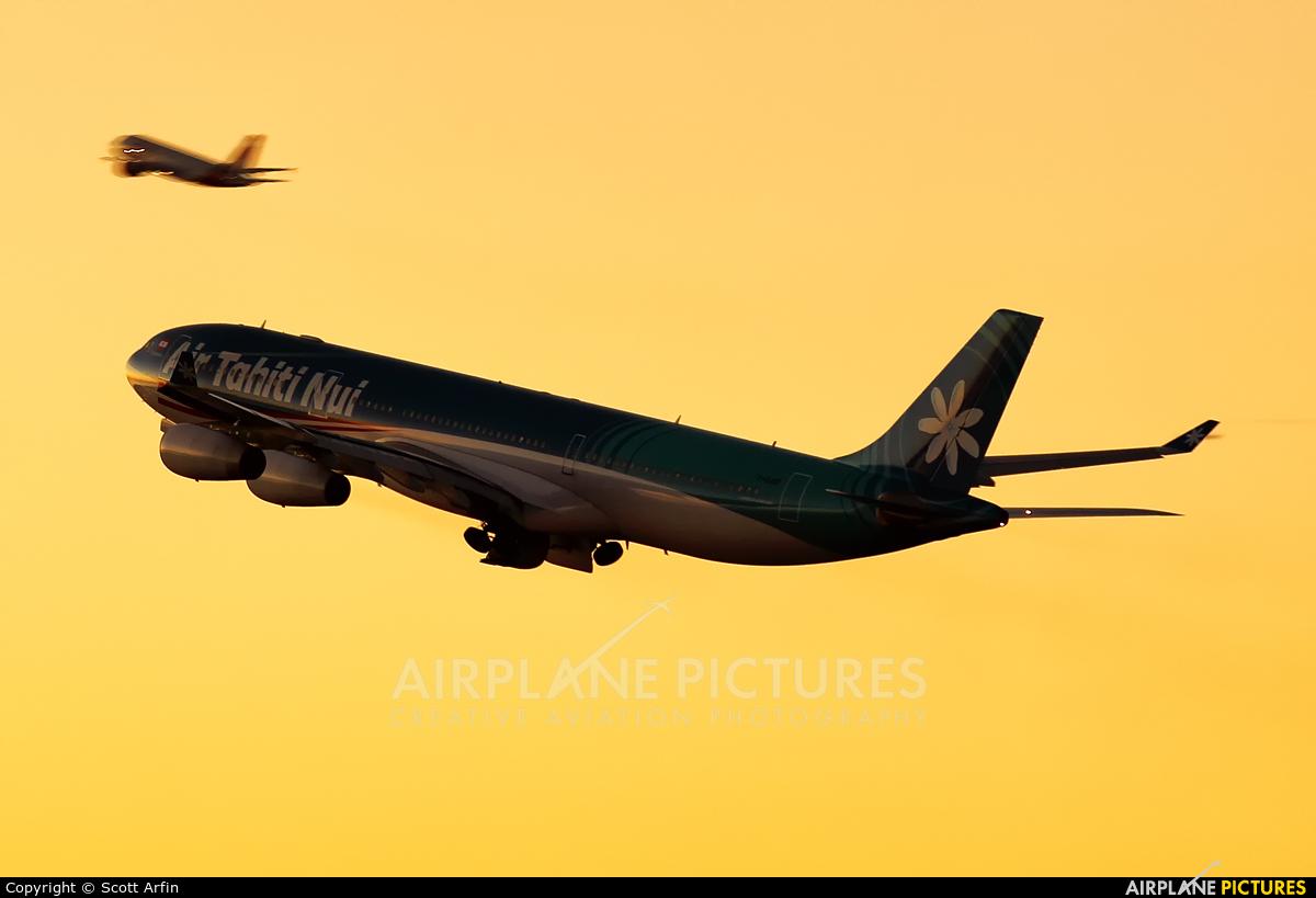 Air Tahiti Nui F-OJGF aircraft at Los Angeles Intl