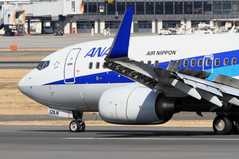 JA12AN - ANA - All Nippon Airways Boeing 737-700
