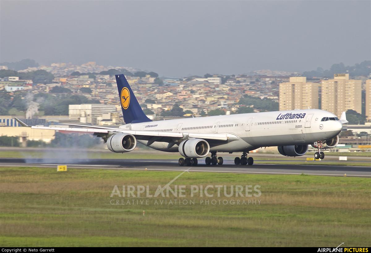 Lufthansa D-AIHI aircraft at São Paulo - Guarulhos