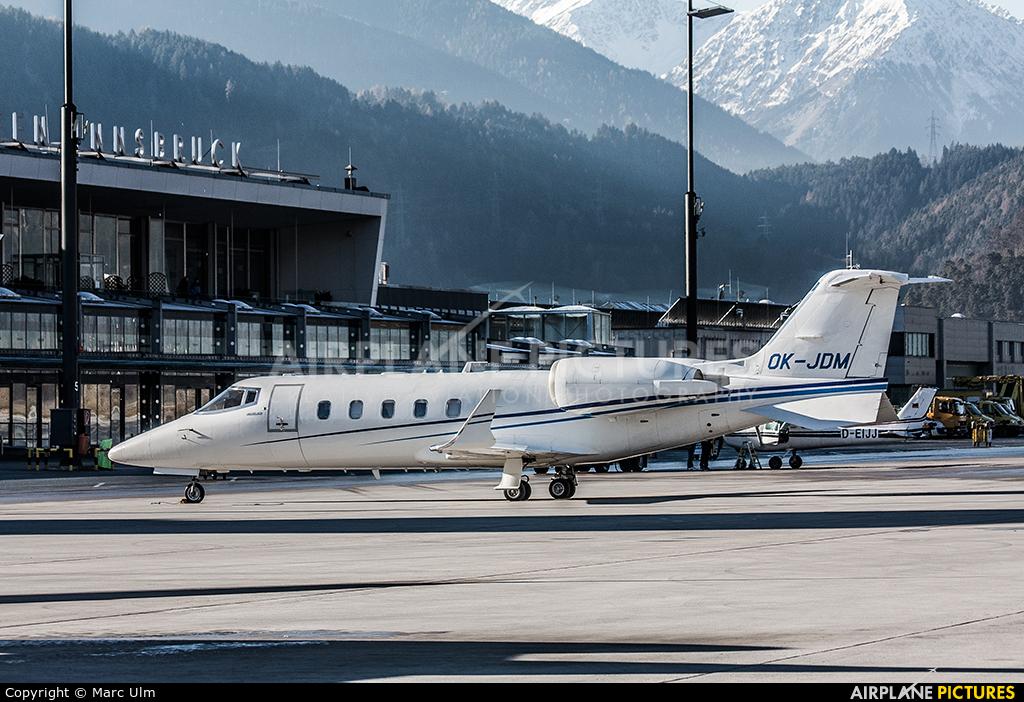 ABS Jets OK-JDM aircraft at Innsbruck