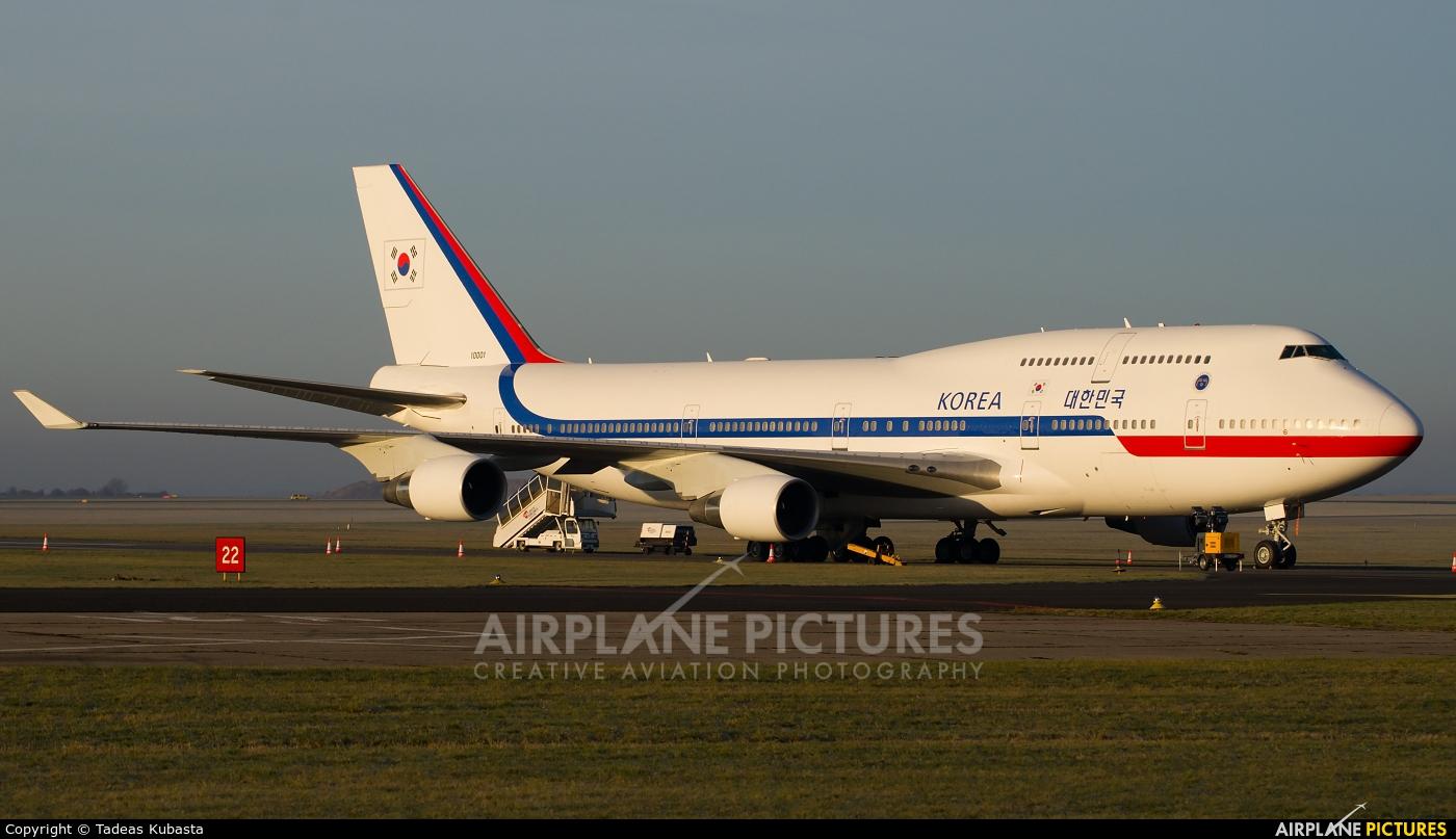 Korea (South) - Air Force 10001 aircraft at Prague - Václav Havel