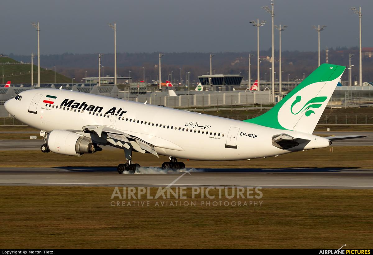 Mahan Air EP-MNP aircraft at Munich