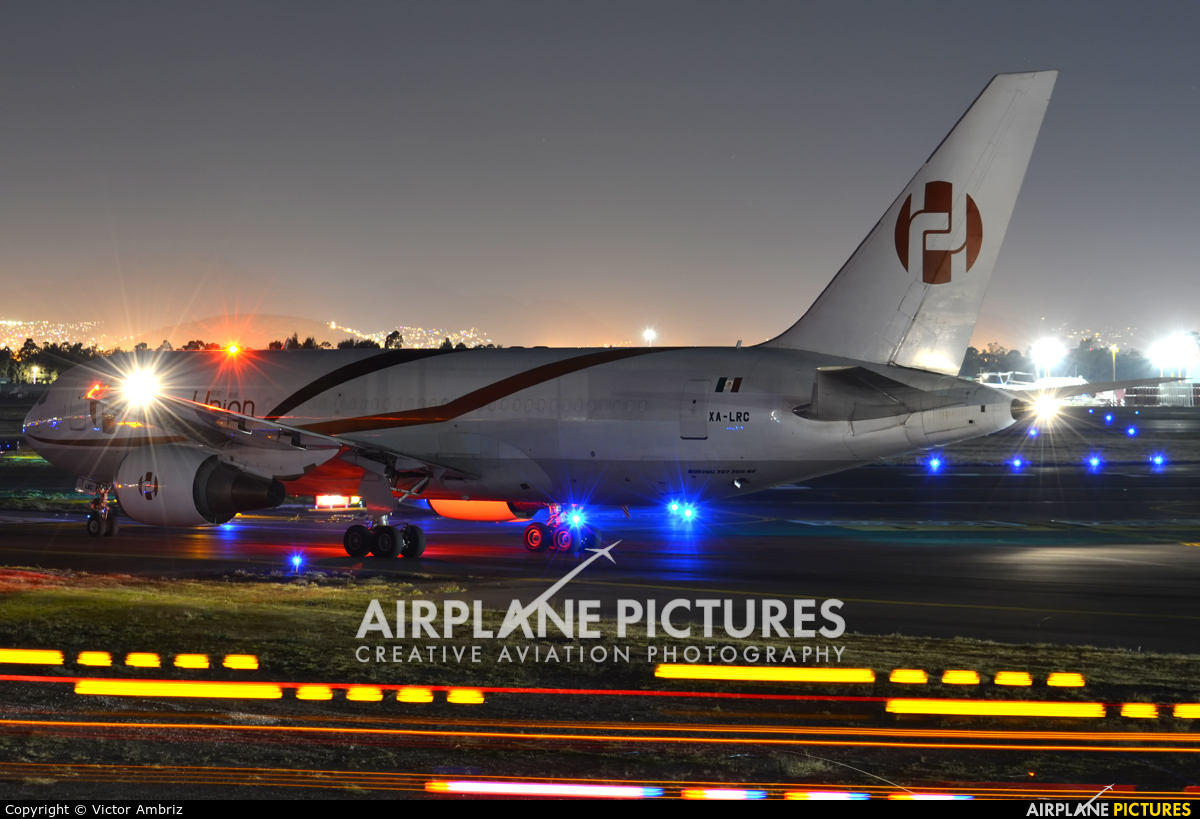 Aero Union XA-LRC aircraft at Mexico City - Licenciado Benito Juarez Intl
